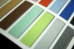 Fabric swatch samples Stock Images