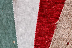 Fabric swatch Stock Images