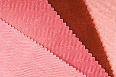 Fabric swatches Stock Images