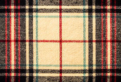 Fabric tartan plaid pattern as background Stock Photos