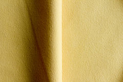 Fabric for technical works yellow Royalty Free Stock Images