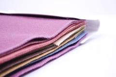 Fabric test folder Royalty Free Stock Photos