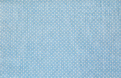 Fabric textile with dots pattern Royalty Free Stock Image