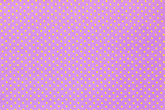 Fabric textile with dots pattern Royalty Free Stock Photography