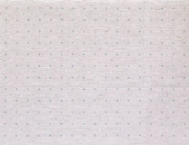 Fabric textile with dots pattern Royalty Free Stock Images