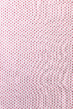 Fabric textile with dots pattern Royalty Free Stock Photos