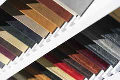 Fabric textile samples stock photo