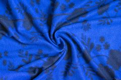 Fabric textile texture for background close-up, background to insert text or design.  royalty free stock images