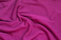 Fabric textile texture for background close-up, background to insert text or design.  royalty free stock photography