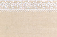 Fabric textile. Texture with lace for background stock image
