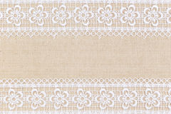 Fabric textile. Texture with lace for background stock photography