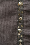 Fabric texture. Close up shot of brown fabric background Royalty Free Stock Photography