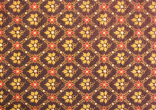 Fabric texture. Vintage traditionnal Thai handmade fabric texture background Stock Photography