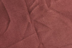 Fabric Texture. Texture of brown fabric macro Royalty Free Stock Photography