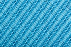 Fabric texture as background. Fabric texture as blue background Stock Photos