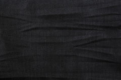 Fabric texture background black Stock Photos