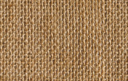 Fabric texture background of seamless linen sacking cloth
