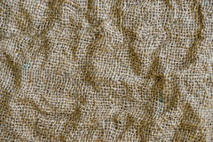 Fabric texture for the background with shadows and irregularities Royalty Free Stock Photography