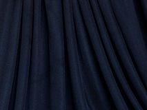 Fabric texture in black background Stock Photos