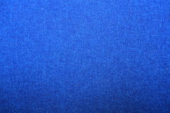 Fabric texture, blue background Stock Photos