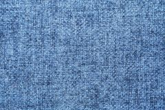 Fabric texture of blue and light color royalty free stock images