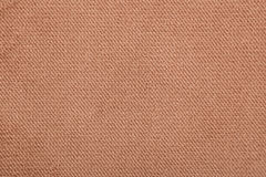 Fabric texture brown abstract background Royalty Free Stock Image