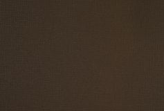 Fabric texture brown background Royalty Free Stock Images