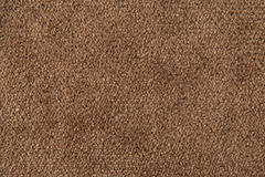 Fabric texture brown carpeting. For background Stock Image
