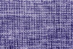Fabric texture of burlap in blue colors Royalty Free Stock Photos