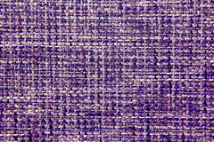 Fabric texture of burlap in cool colours closeup Stock Photo