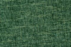 Fabric texture of burlap in green colours Stock Images