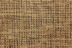 Fabric texture of burlap in neutral colors close up Royalty Free Stock Photo