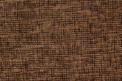 Fabric texture of burlap structure Stock Image