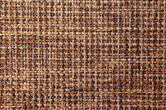 Fabric texture of burlap in warm colours Stock Photography