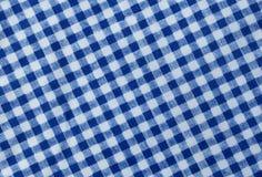 Blue and White Lumberjack Plaid Pattern Background Royalty Free Stock Image