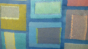 Fabric texture. Close-up of the fabric of a chair Stock Images
