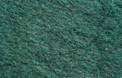Fabric texture. Close-up of a green fabric Royalty Free Stock Photo