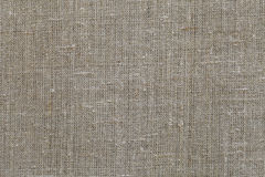 Fabric texture closeup beige brown burlap Stock Photos