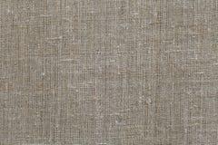 Fabric texture closeup beige brown burlap Stock Photos