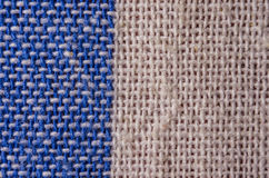Fabric texture, cloth background close up. Fabric texture, cloth background line linen coton color close-up Stock Image