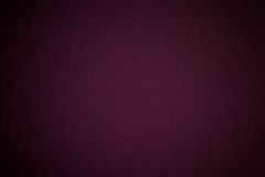 Fabric texture dark violet background Royalty Free Stock Image