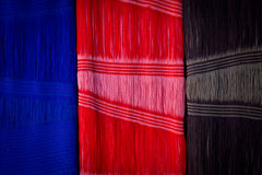Fabric texture detail Royalty Free Stock Images