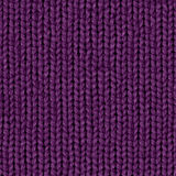 Fabric texture 7 diffuse seamless map. Dark violet. royalty free stock photography