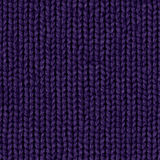 Fabric texture 7 diffuse seamless map. Indigo. royalty free stock image