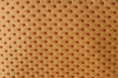 Fabric texture. With dots for commercial use Stock Images