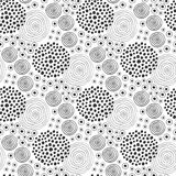 Fabric texture. Fashion seamless pattern. Textile design. Ethnic background with circles. Fabric texture. Fashion seamless pattern. Textile design. Ethnic royalty free illustration