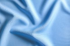 Fabric texture with folds. As background Stock Photo