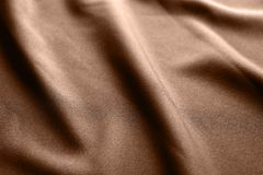 Fabric texture with folds. As background Royalty Free Stock Images