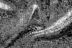 Fabric texture with folds. As background Royalty Free Stock Photos