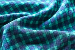 Fabric texture with folds. As background Royalty Free Stock Photo